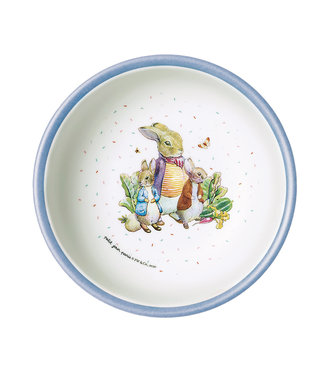 Petit Jour Petit Jour Paris | Peter Rabbit | Schaaltje met Blauwe Rand | 250 ml  | + 6 mnd