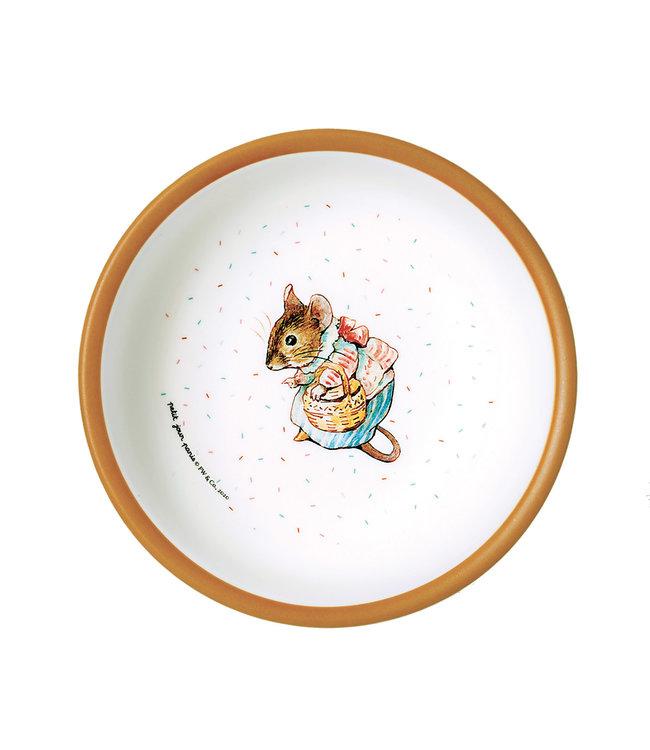 Petit Jour Paris | Peter Rabbit | Schaaltje met Oranje Rand | 250 ml  | + 6 mnd