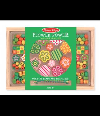 Melissa and Doug Melissa and Doug | Wooden Bead Set | Flower Power | 4+