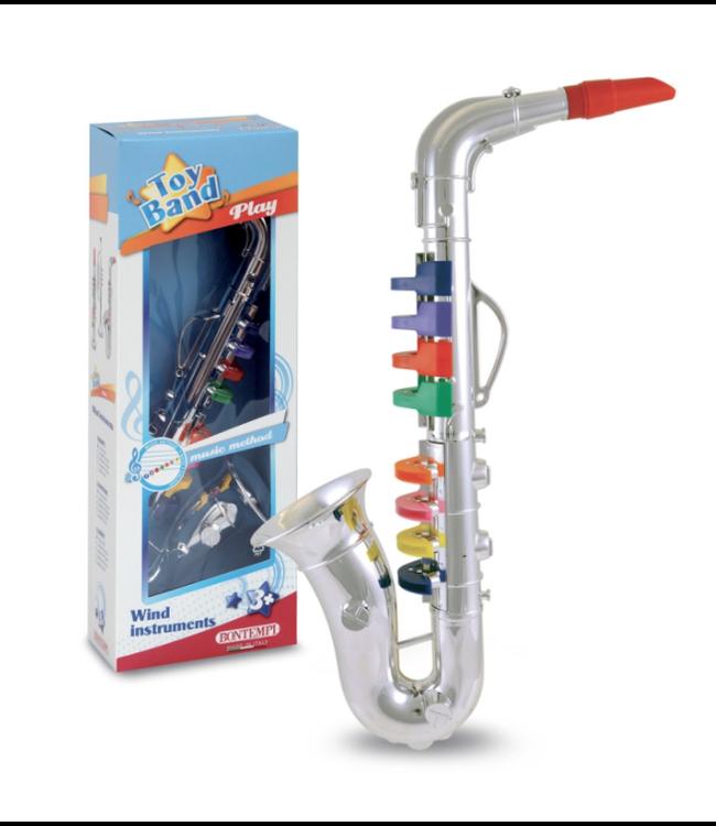 Bontempi | Saxofoon | 8 tonen | 41,5 cm | 3+