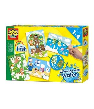 Ses Ses My First Kleuren met Water Verborgen Dieren 1+