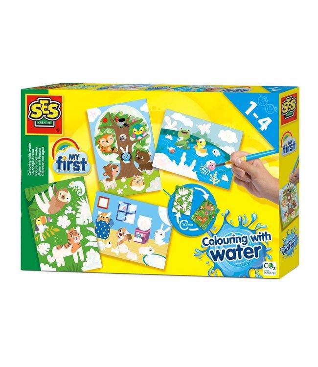 Ses My First Kleuren met Water Verborgen Dieren 1+
