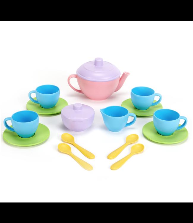 Green Toys | Tea Set | Pink Teapot | 2+