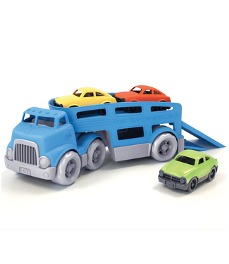 Green Toys Green Toys | Autotransporter incl 3 Auto´s | 30 cm  | 3+