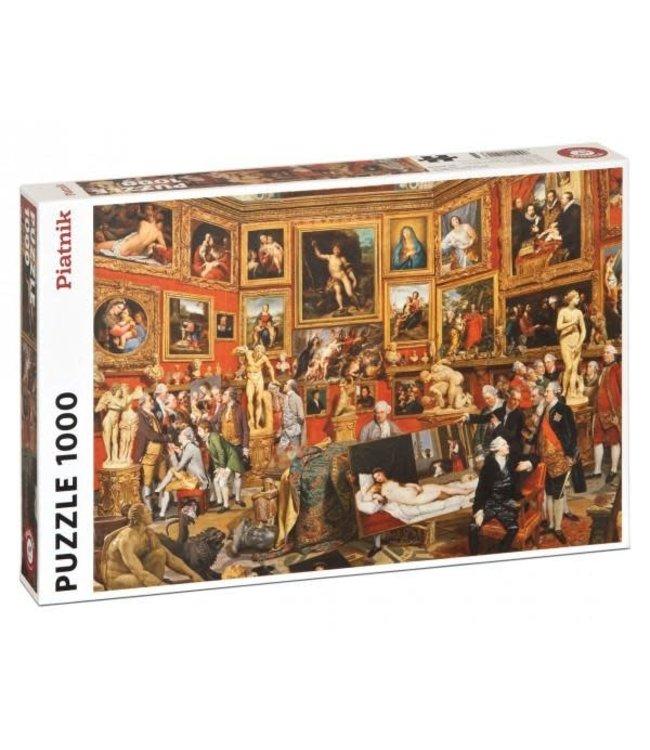 Piatnik Tribuna of the Uffizi - Johan Zoffany 1000 stukjes