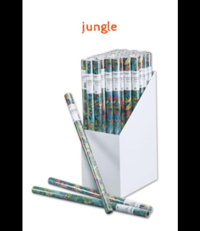 Cadeaupapier | Jungle | Rol van 200 x 70 cm