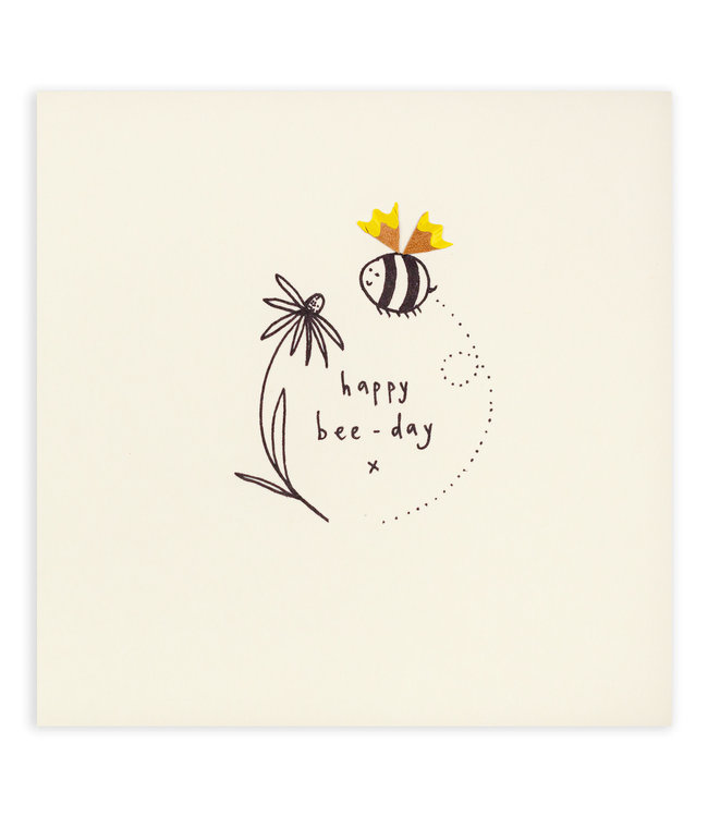 Pencil Shavings Cards by Ruth Jackson   Happy bee - day
