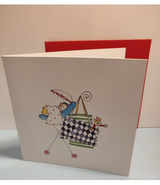 Birgitta Cards | Dubbele Kaart | Geboorte Kaartje | Slaap Kindje Slaap