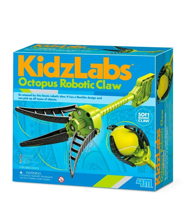 4M   Kidzlabs   Octopus Robotklauw   5+