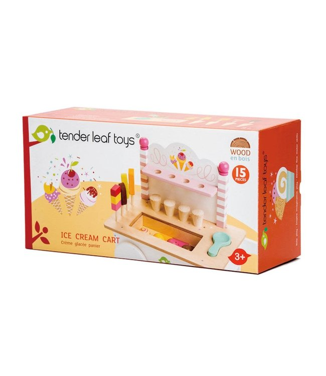 Tender Leaf Toys | Ice Cream Cart |  IJskarretje | 3+