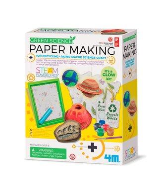 4M 4M | Kidzlabs | Green Science | Papier Maken | 5+