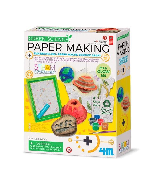 4M | Kidzlabs | Green Science | Papier Maken | 5+