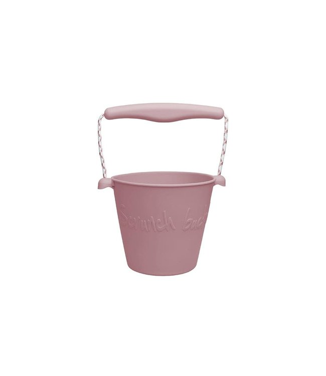Scrunch  | Emmer | 15 cm | Inhoud 1,5 liter | Oud Roze | 1+
