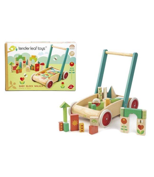 Tender Leaf Toys | Baby Block Babywalker | +18 mnd