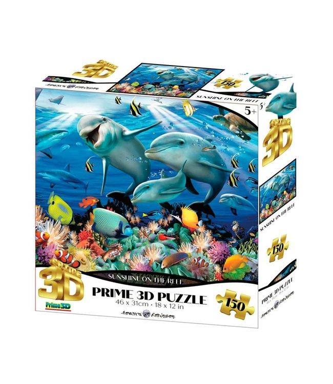 Howard Robinson | Prime 3D Puzzle | Sunshine On The Riff | 150 stukjes  | 5+