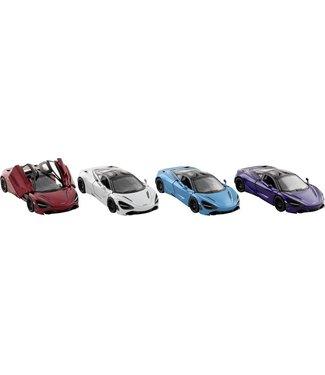 Goki   Metalen Auto   Pull back   Mc Laren 720S   1:36   12,5 cm   3+