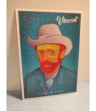 Lenticulaire Kaart Bewegend | Vincent van Gogh