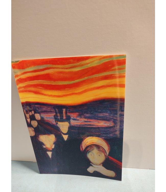 Lenticulaire Kaart Bewegend   Edvard Munch