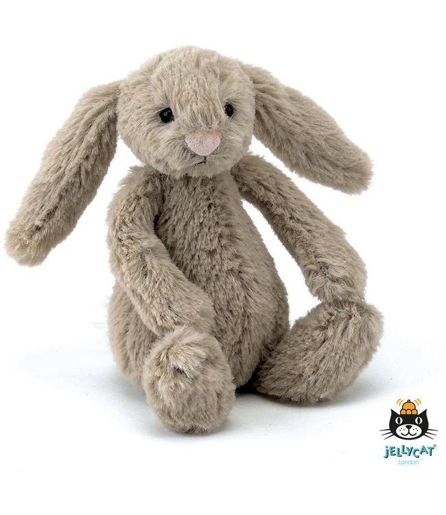 Jellycat Bashful Bunny Beige Baby   13 cm