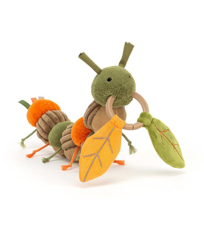 Jellycat Christopher Caterpillar Activity Toy   12 cm