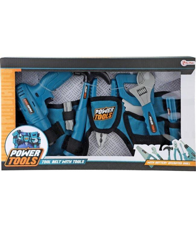 Toi-toys   Power Tools   Gereedschap set Met Heuptas   7-delig   3+