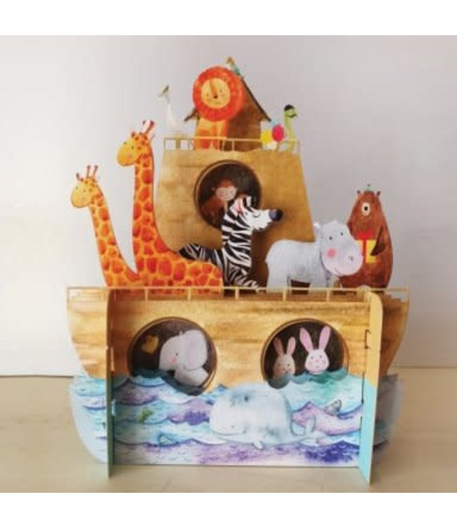 Alljoy Design   3D   Pop-up Kaart   Ark van Noach