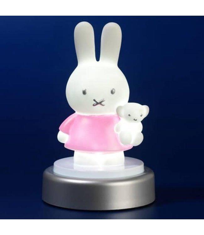 Nijntje Druklampje Lichtroze 15 cm