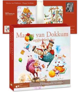 Art Revisited | Marius van Dokkum | 4 x 2 |  Happy Birthday