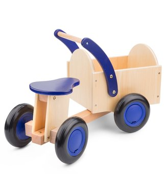 New Classic Toys New Classic Toys | Bakfiets | Blauw | 1+
