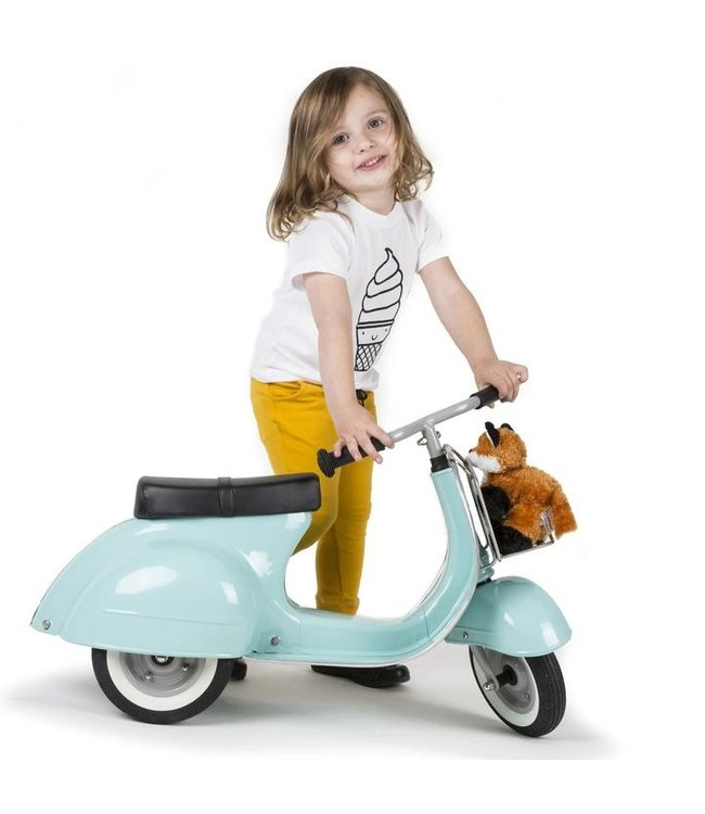 Ambosstoys | Primo | Classic Kids Ride On Scooter | Mint | 1-5 Jaar