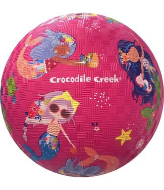 Crocodile Creek Crocodile Creek | Rubber Playball | 18 cm | Mermaids | 3+