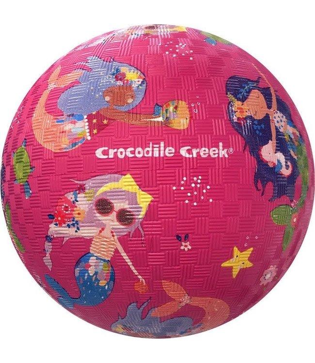 Crocodile Creek   Rubber Playball   Mermaids   18 cm  3+