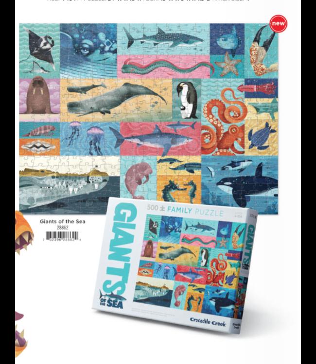 Crocodile Creek | Puzzle | Giants of the Sea | 500 pieces