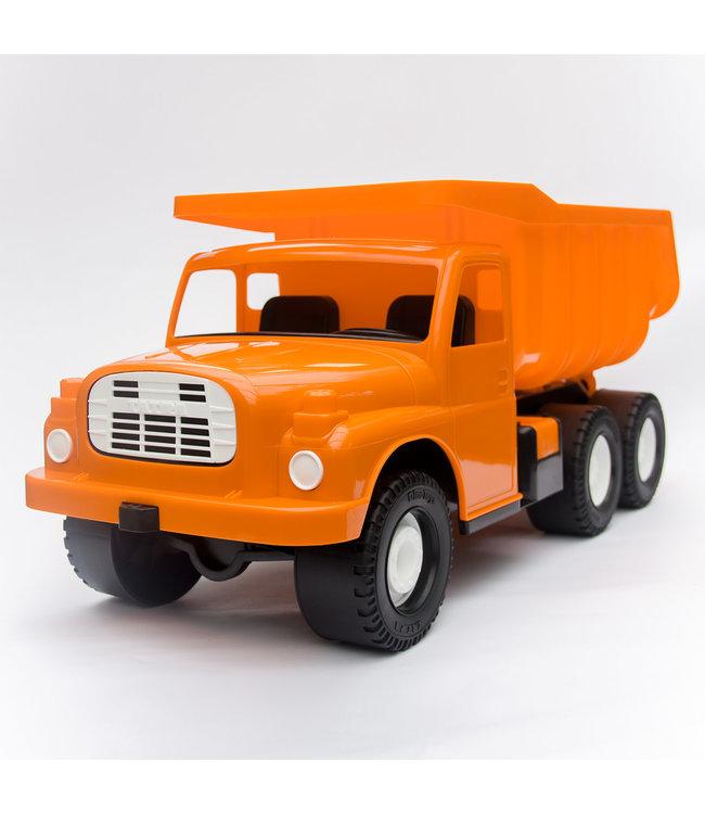 Dino Toys   Tatra 148   Plastic Kiepwagen   Oranje   73 cm   1+