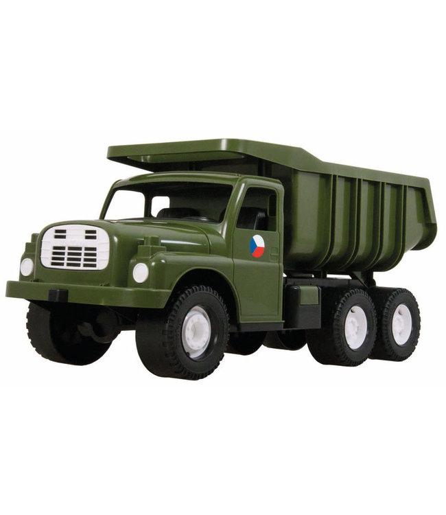 Dino Toys   Tatra 148   Plastic Kiepwagen   Groen   73 cm   1+