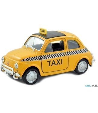 Welly Welly | Fiat Nuova 500 | Taxi | 1:24 | Pull Back | 3+
