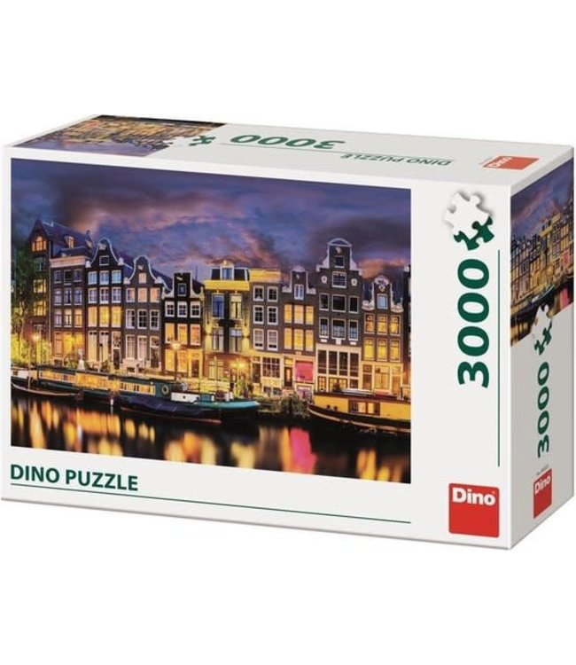 Dino Toys | Puzzel | Amsterdam | 3000 stukjes