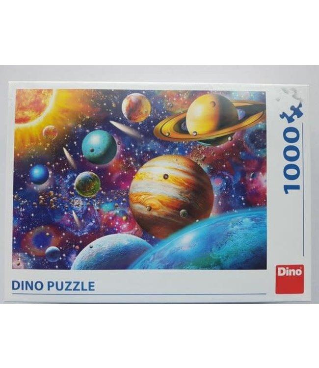 Dino Toys | Puzzel | Planeten | 1000 stukjes
