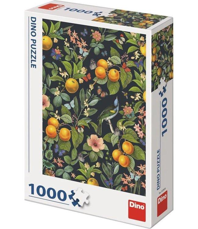 Dino Toys   Puzzel   Sinaasappel Bloesem   1000 stukjes