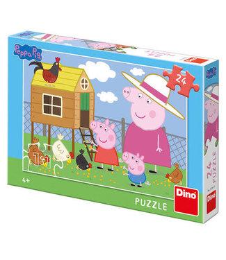 Dino Toys Dino Toys | Puzzel | Peppa Pig | 24 stukjes | 4+