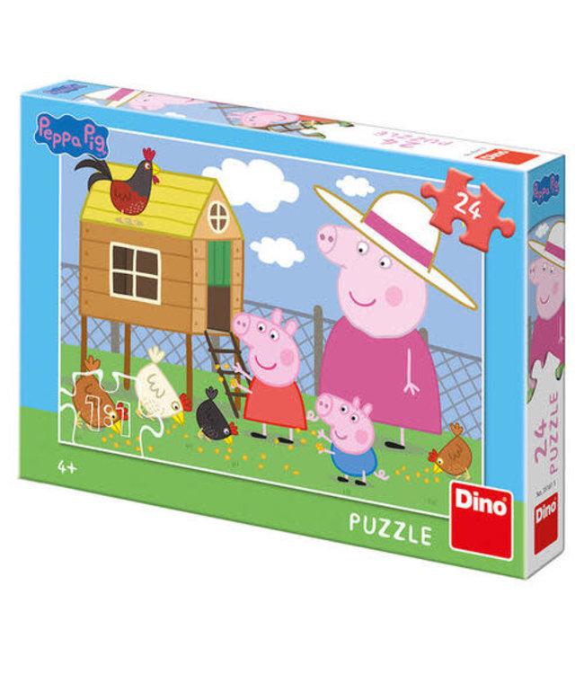Dino Toys | Puzzel | Peppa Pig | 24 stukjes | 4+