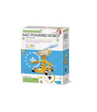 4M 4M | Kidzlabs | Green Science | Salt Water Power Robot | 8+