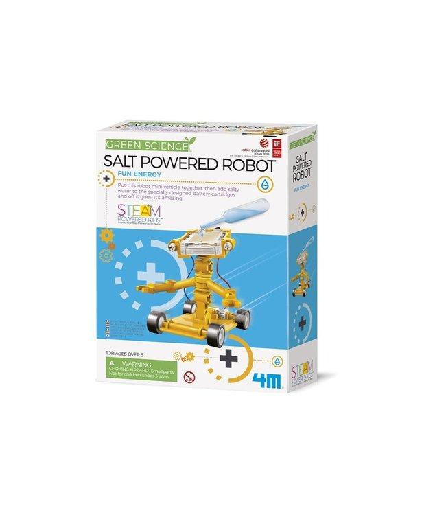 4M   Kidzlabs   Green Science   Salt Water Power Robot   8+