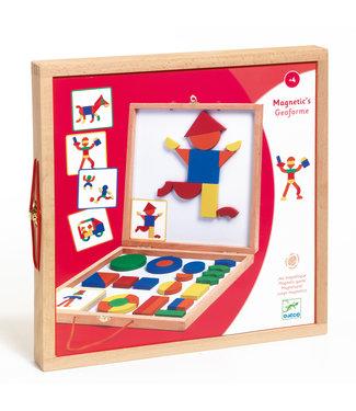 Djeco Djeco | Magnetic Geoform | 4+