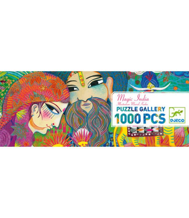 Djeco   Puzzle Gallery   Magic India   1000 stukjes