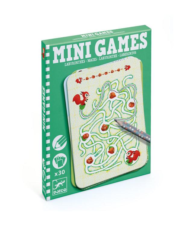Djeco   Mini Games   Reisspel   Doolhoven van Ariane   6 - 10 jaar