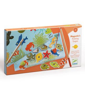 Djeco Djeco   Magnetisch Visspel   Fishing Tropic   2+