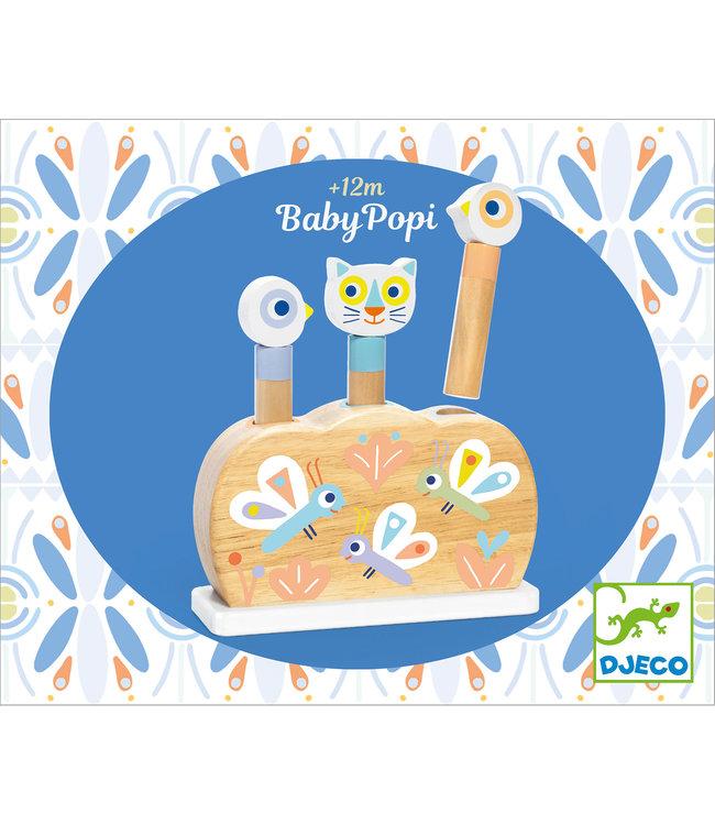 Djeco | Pop up Toy | BabyPopi | 1+