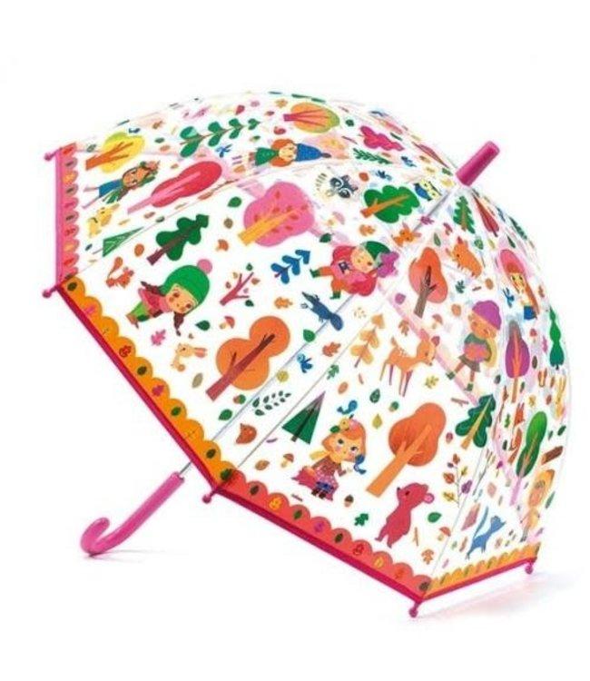 Djeco   Paraplu   70 cm   Bos   3+