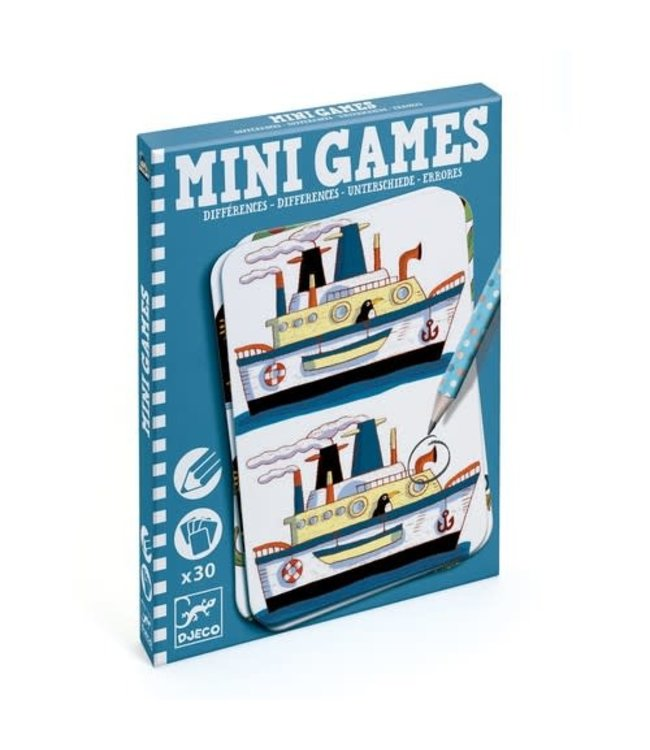 Djeco   Mini Games   Reisspel   Verschillen Zoeken   6 - 10 jaar